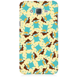 RAYITE Spy Duck Pattern Premium Printed Mobile Back Case Cover For Samsung J5 2016 Version