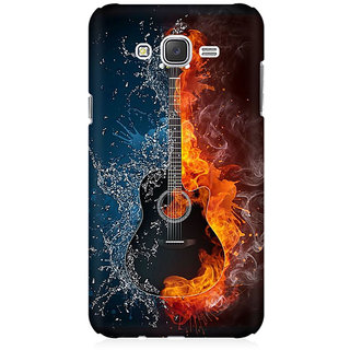 RAYITE Guitar Premium Printed Mobile Back Case Cover For Samsung J5