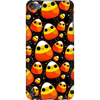 RAYITE Cute Egg Toons Preum Printed Mobile Back Case Cover For  IPod Touch 5