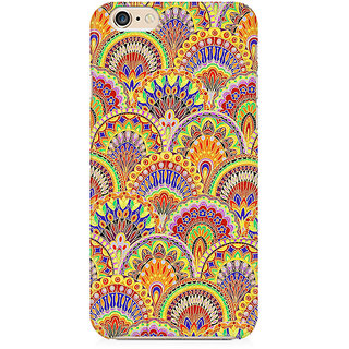 RAYITE Glow Mandala Pattern Preum Printed Mobile Back Case Cover For   6 Plus/6s Plus