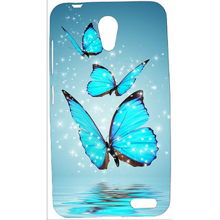 super popular 16915 98dec FCS UV Printed Soft Silicon Back Cover For Micromax Vdeo 1 Q4001 With OTG  Cable