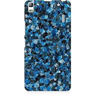 RAYITE Blue Marble Granite Premium Printed Mobile Back Case Cover For Lenovo K3 Note