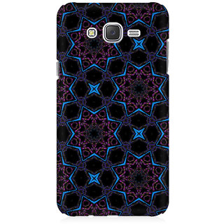 RAYITE Black Stars Premium Printed Mobile Back Case Cover For Samsung J3