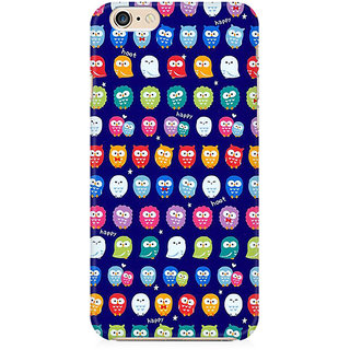 RAYITE Tiny Owl Pattern Preum Printed Mobile Back Case Cover For   6/6s