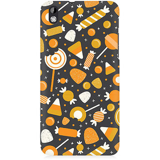 RAYITE Toffees Premium Printed Mobile Back Case Cover For HTC Desire 816