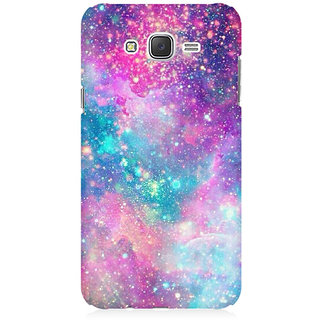 RAYITE Galaxy Print Premium Printed Mobile Back Case Cover For Samsung J5 2016 Version