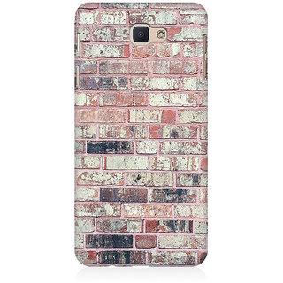 RAYITE Bricks Wall Premium Printed Mobile Back Case Cover For Samsung J5 Prime