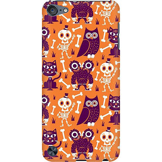 RAYITE Funny Monster Preum Printed Mobile Back Case Cover For  IPod Touch 5