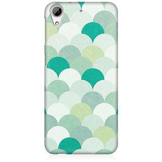 RAYITE Silver Umbrella Premium Printed Mobile Back Case Cover For HTC Desire 626