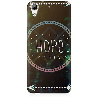 RAYITE Hope Premium Printed Mobile Back Case Cover For HTC Desire 626