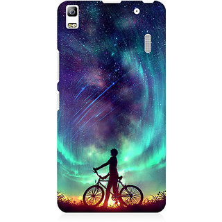 RAYITE Dream On Galaxy Premium Printed Mobile Back Case Cover For Lenovo K3 Note