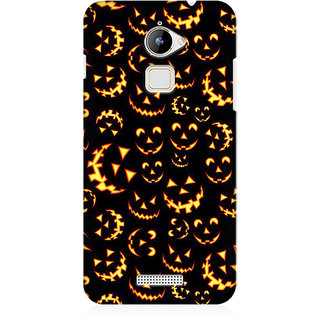 RAYITE Halloween Pattern Premium Printed Mobile Back Case Cover For Coolpad Note 3 Lite