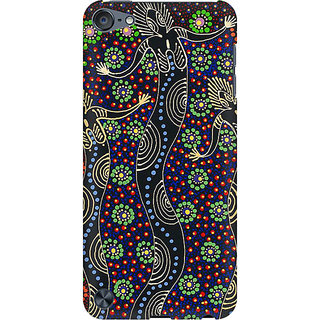 RAYITE God Abstract Preum Printed Mobile Back Case Cover For  IPod Touch 5