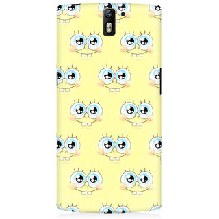 RAYITE Cute Cartoon Premium Printed Mobile Back Case Cover For OnePlus One