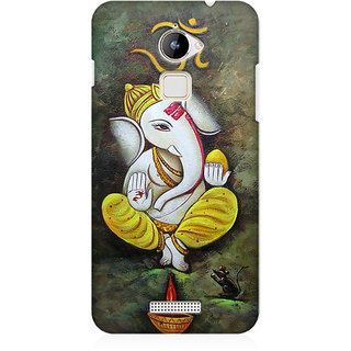 RAYITE Ganesha Premium Printed Mobile Back Case Cover For Coolpad Note 3 Lite