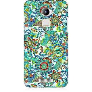 RAYITE Green Mandala Premium Printed Mobile Back Case Cover For Coolpad Note 3 Lite