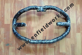 8 BENT BLACK WITH BLACK ROPE ENFIELD BULLET CRASH/SAFETY GUARD