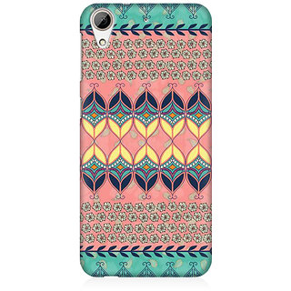 RAYITE Beautiful Aztec  Premium Printed Mobile Back Case Cover For HTC Desire 626