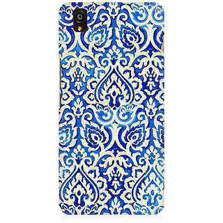 RAYITE Vintage Geometric Premium Printed Mobile Back Case Cover For OnePlus X