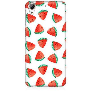 RAYITE Watermelon Pattern Premium Printed Mobile Back Case Cover For HTC Desire 626