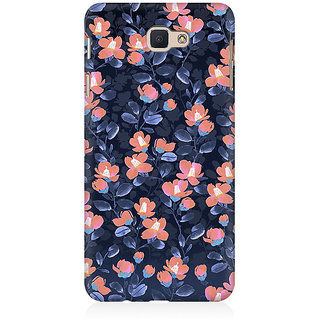 RAYITE Glowing Floral Premium Printed Mobile Back Case Cover For Samsung J5 Prime