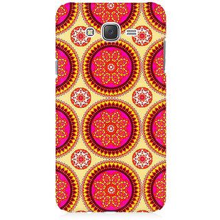 RAYITE Mandala Pattern Premium Printed Mobile Back Case Cover For Samsung J2