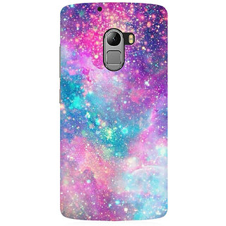 RAYITE Galaxy Print Premium Printed Mobile Back Case Cover For Lenovo A7010