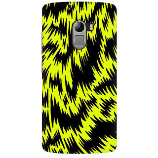 RAYITE Yellow Cheetah Pattern Premium Printed Mobile Back Case Cover For Lenovo K4 Note