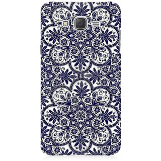 RAYITE Blue Mandala Premium Printed Mobile Back Case Cover For Samsung J5 2016 Version