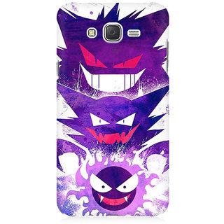 RAYITE Toon Devils Premium Printed Mobile Back Case Cover For Samsung J2 2016