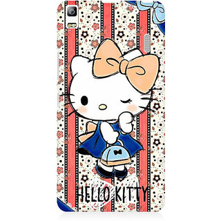RAYITE Hello Kitty Premium Printed Mobile Back Case Cover For Lenovo K3 Note