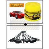 Vheelocity Waxpol Ultra Glo Polish With Uv Guard 100Gms + Titoni 11 In 1 Universal Car Mobile Charger