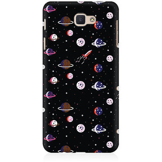 RAYITE Space Pattern Premium Printed Mobile Back Case Cover For Samsung J5 Prime
