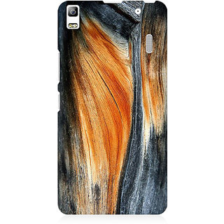 RAYITE Classic Wood Premium Printed Mobile Back Case Cover For Lenovo K3 Note