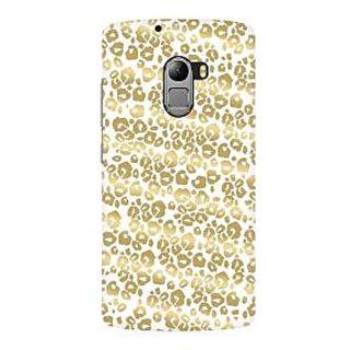RAYITE Golden Cheetah Pattern Premium Printed Mobile Back Case Cover For Lenovo K4 Note