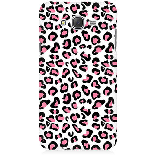 RAYITE Pink Cheetah Pattern Premium Printed Mobile Back Case Cover For Samsung J2 2016