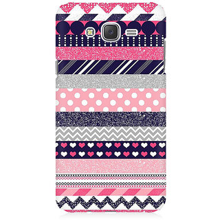 RAYITE Glitter Print Aztec Pattern Premium Printed Mobile Back Case Cover For Samsung J7 2016 Version