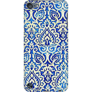 RAYITE Vintage Geometric Preum Printed Mobile Back Case Cover For  IPod Touch 6
