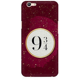RAYITE Platform 9 3/4 Premium Printed Mobile Back Case Cover For Oppo A59