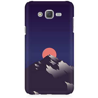 RAYITE Sunset Scenery Premium Printed Mobile Back Case Cover For Samsung J7 2016 Version