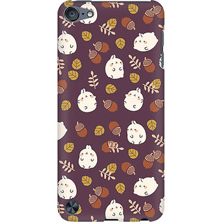 RAYITE Cute Toon Preum Printed Mobile Back Case Cover For  IPod Touch 6