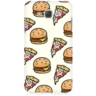 RAYITE Pizza Fast Food Premium Printed Mobile Back Case Cover For Samsung J7 2016 Version