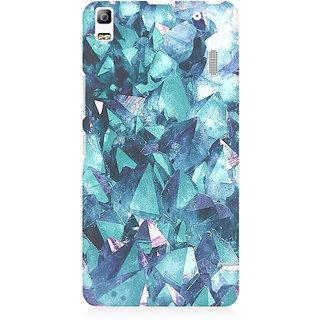 RAYITE Blue Granite Premium Printed Mobile Back Case Cover For Lenovo K3 Note