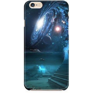 RAYITE Way To Galaxy Preum Printed Mobile Back Case Cover For   6/6s
