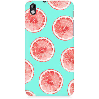 RAYITE Citrus Pattern Premium Printed Mobile Back Case Cover For HTC Desire 816