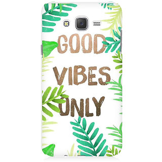 RAYITE Good Vibes Premium Printed Mobile Back Case Cover For Samsung J7