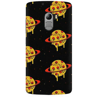 RAYITE Pizza Planet Love Premium Printed Mobile Back Case Cover For Lenovo A7010