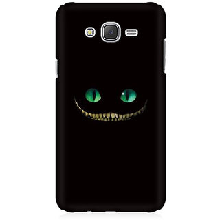 RAYITE Devil Smile Premium Printed Mobile Back Case Cover For Samsung J3