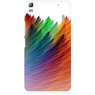 RAYITE Colourful Premium Printed Mobile Back Case Cover For Lenovo A7000