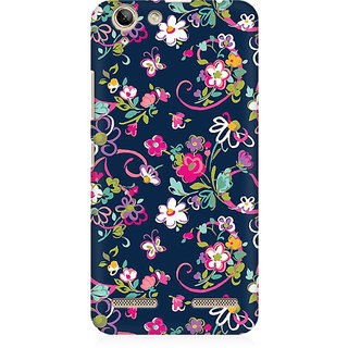 RAYITE Cute Flower And Butterfly Premium Printed Mobile Back Case Cover For Lenovo Lemon 3